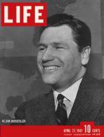 Life Magazine, April 27, 1942 - Nelson Rockefeller