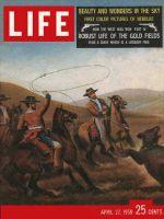 Life Magazine, April 27, 1959 - Gold rush days