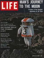 Life Magazine, April 27, 1962 - Destination: moon
