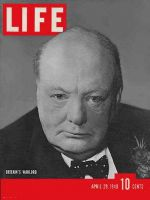 Life Magazine, April 29, 1940 - Winston Churchill