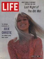 Life Magazine, April 29, 1966 - Julie Christie