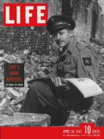 Life Magazine, April 30, 1945 - War artists