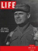 Life Magazine, April 30, 1951 - General Ridgway