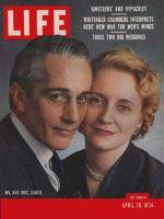 Life Magazine, April 30, 1956 - Daniel  Truman