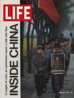 Life Magazine, April 30, 1971 - Chinese children marching