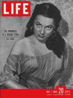 Life Magazine, May 1, 1950 - Ruth Roman
