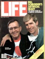 Life Magazine, May 1, 1985 - Artificial Heart Patient