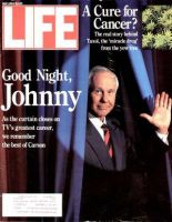 Life Magazine, May 1, 1992 - Johnny Carson