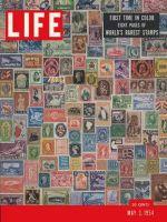 Life Magazine, May 3, 1954 - Million-dollar album, stamps