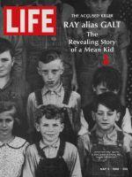 Life Magazine, May 3, 1968 - Assassin James Earl Ray in third grade