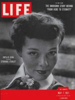 Life Magazine, May 7, 1951 - Phyllis Kirk