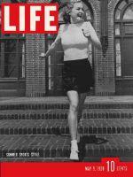 Life Magazine, May 9, 1938 - Summer styles