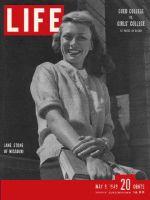 Life Magazine, May 9, 1949 - Missouri coed Jane Stone