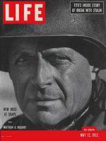 Life Magazine, May 12, 1952 - General Matthew Ridgway
