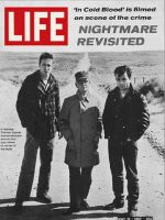 Life Magazine, May 12, 1967 - Truman Capote with actors Scott Wilson and Robert Blake