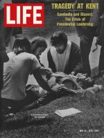 Life Magazine, May 15, 1970 - Wounded Kent State student
