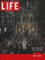 Life Magazine, May 16, 1960 - Princess Margaret's wedding