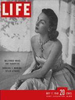 Life Magazine, May 17, 1948 - Mrs. David Niven