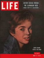 Life Magazine, May 17, 1954 - Dawn Addams
