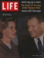 Life Magazine, May 17, 1963 - Governor Nelson and Happy Rockefeller, Mystery cloud issue