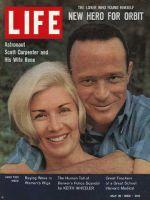 Life Magazine, May 18, 1962 - Astronaut Scott Carpenter and wife Rene