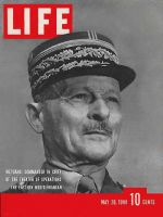 Life Magazine, May 20, 1940 - French general