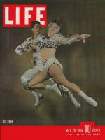 Life Magazine, May 20, 1946 - Ice skaters