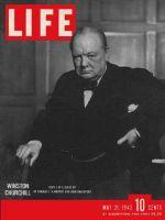 Life Magazine, May 21, 1945 - Winston Churchill