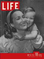 Life Magazine, May 22, 1944 - Mother and son