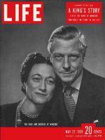 Life Magazine, May 22, 1950 - Duke and Duchess of Windsor