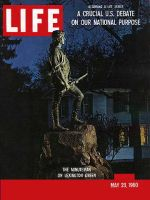 Life Magazine, May 23, 1960 - Minuteman, statue