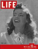 Life Magazine, May 24, 1943 - Model-starlet Peggy Lloyd