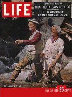 Life Magazine, May 25, 1959 - The Sherman Adamses