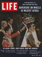 Life Magazine, May 25, 1962 - Prince Juan Carlos weds