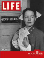 Life Magazine, May 26, 1941 - Army nurse