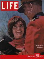 Life Magazine, May 26, 1961 - Kennedys in Canada