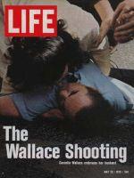 Life Magazine, May 26, 1972 - Cornelia Wallace with wounded husband George