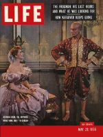 Life Magazine, May 28, 1956 - Movie The King and I
