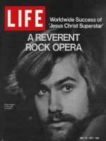 Life Magazine, May 28, 1971 - Rock opera star Chris Brown