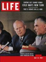 Life Magazine, May 30, 1960 - Summit collapse