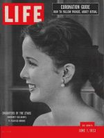 Life Magazine, June 1, 1953 - Hollywood daughters