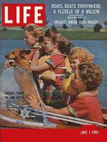 Life Magazine, June 1, 1959 - Powerboats
