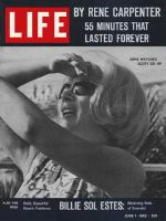 Life Magazine, June 1, 1962 - Rene Carpenter