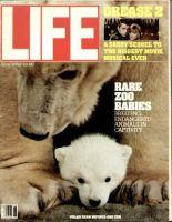 Life Magazine, June 1, 1982 - Rare Zoo Babies, Polar Bear