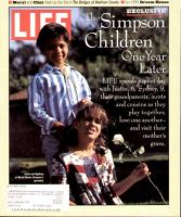 Life Magazine, June 1, 1995 - O.J. Simpsons Kids