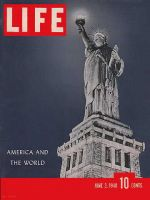 Life Magazine, June 3, 1940 - Statue of Liberty