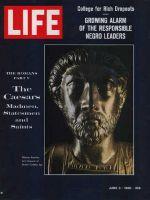 Life Magazine, June 3, 1966 - Bust of Marcus Aurelius