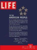 Life Magazine, June 4, 1945 - War Loan Drive letter