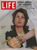 Life Magazine, June 4, 1965 - German measles blood test