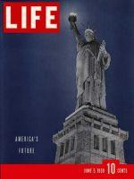 Life Magazine, June 5, 1939 - Statue of Liberty